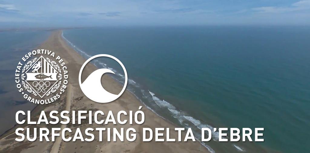 CLASSIFICACIÓ DELTA D'EBRE