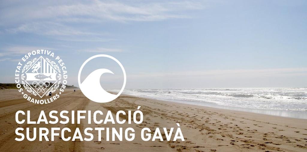 CLASSIFICACIÓ GAVÀ