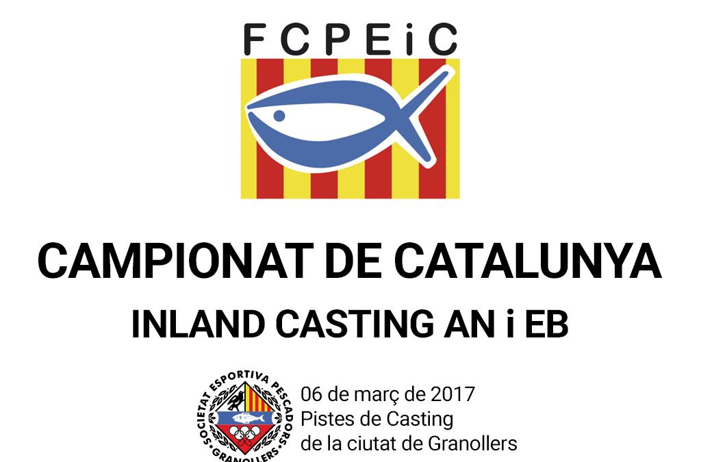 CAMPIONAT DE CATALUNYA INLAND CASTING 2017