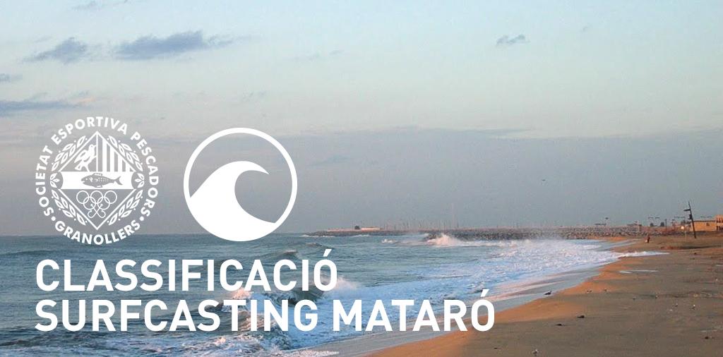 CLASSIFICACIÓ MATARÓ