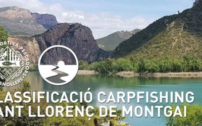 CLASSIFICACIÓ SANT LLORENÇ DE MONTGAI
