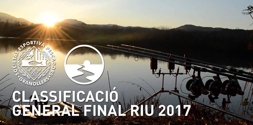 CLASSIFICACIÓ GENERAL FINAL RIU 2017