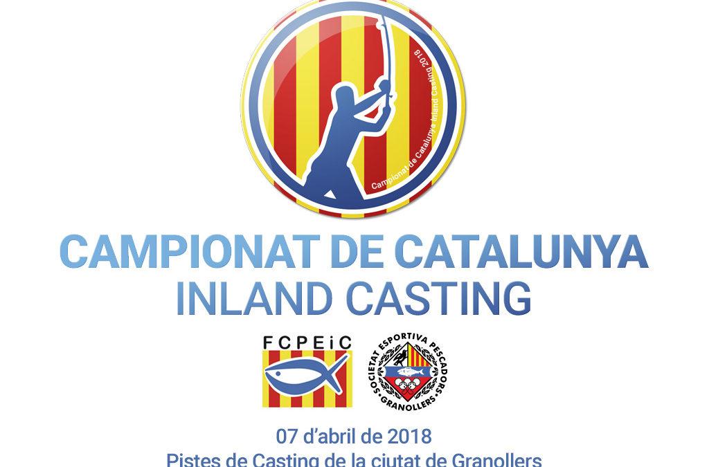 CAMPIONAT DE CATALUNYA INLAND CASTING 2018